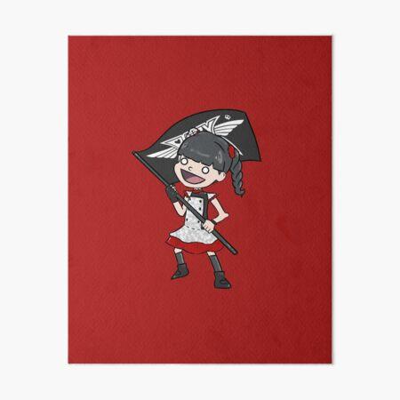 Yui Metal Art Board Print