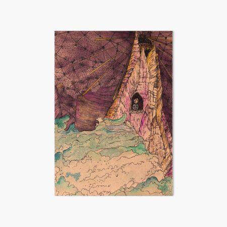 Lost Boy in a Lightouse Art Board Print