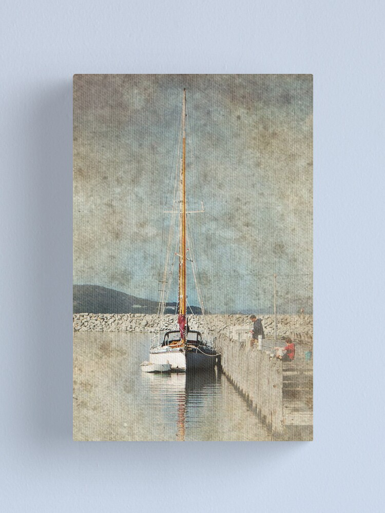 Alternate view of Yacht Canvas Print