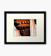 Albertson's Abstract Framed Print