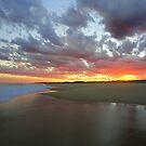Sunset, Seal Rocks, NSW, Australia by Of Land & Ocean - Samantha Goode
