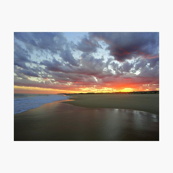 Sunset, Seal Rocks, NSW, Australia Photographic Print