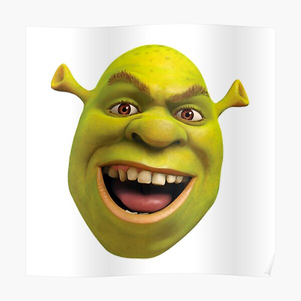 Shrek Meme Png Posters Redbubble