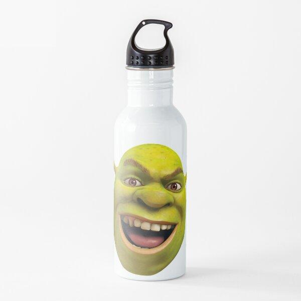 Little shrek meme Water Bottle