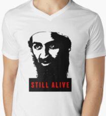 OSAMA BIN LADEN - STILL ALIVE T-Shirt Men's V-Neck T-Shirt