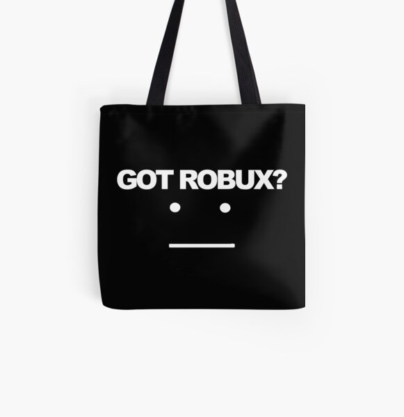 Roblox Robux Tote Bags Redbubble