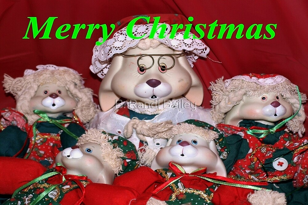Woofing you a Merry Christmas! by ♥⊱ B. Randi Bailey