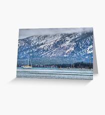Landscape Lake Tahoe Greeting Card