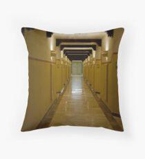 Corridor Patterns Throw Pillow