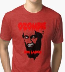 Osama is dead - Osama is undead 2 - Osama Tri-blend T-Shirt