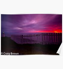 Sunrise at Cape Spear Poster