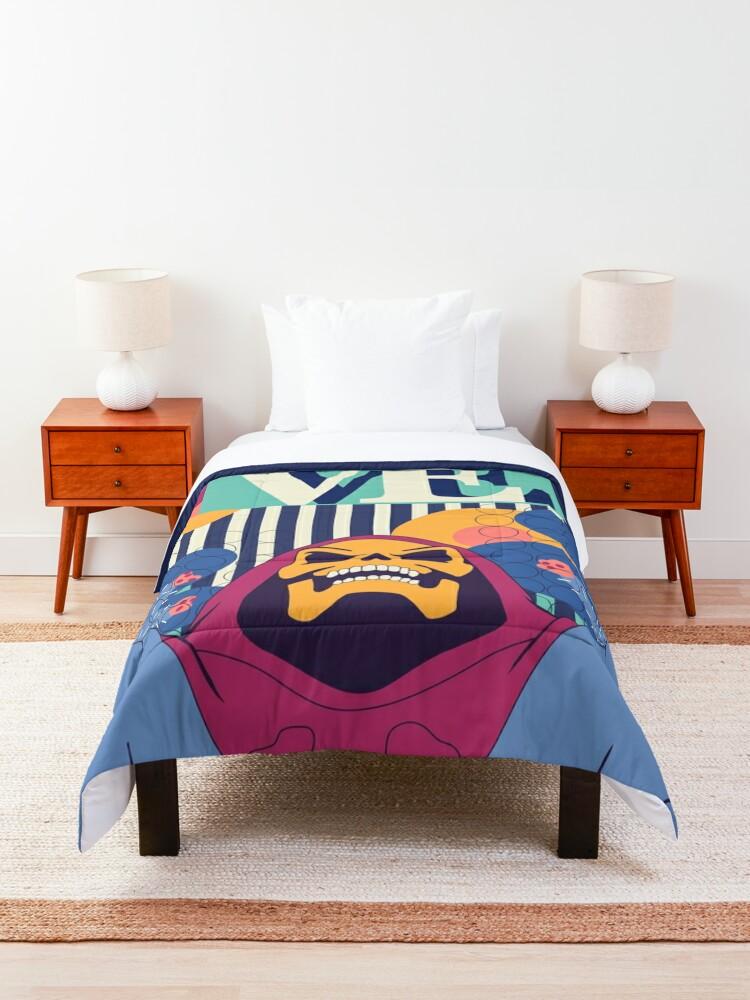 Alternate view of Love Skeletor Comforter
