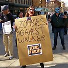 Zombies Against Walker by AuntieJ