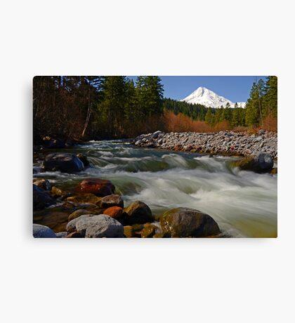Hood River Landscape Canvas Print