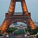 Eiffel Tower Perspective by David Friederich