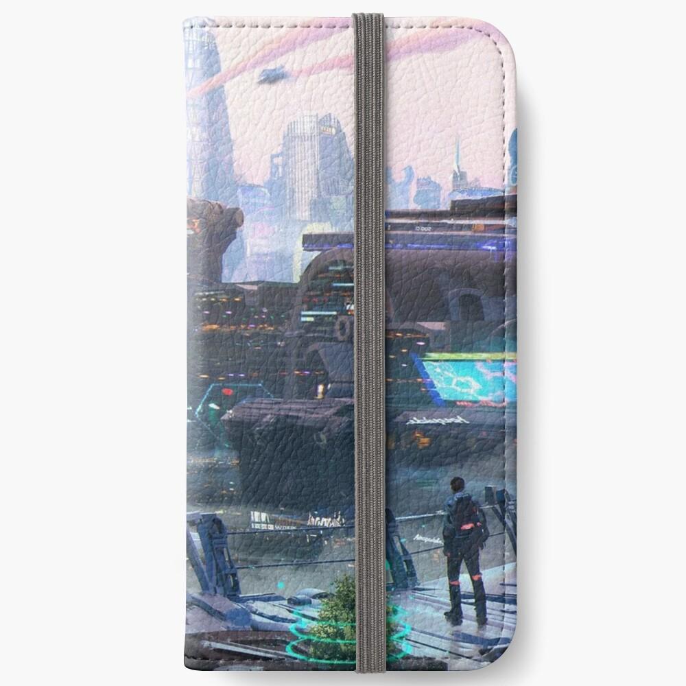 The multifaceted fantasy of Marat Zakirov - Многогранная фантастика Марата Закирова iPhone Wallet