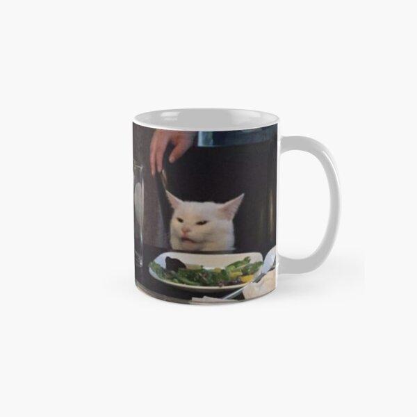 Woman Yelling at Cat Meme Classic Mug