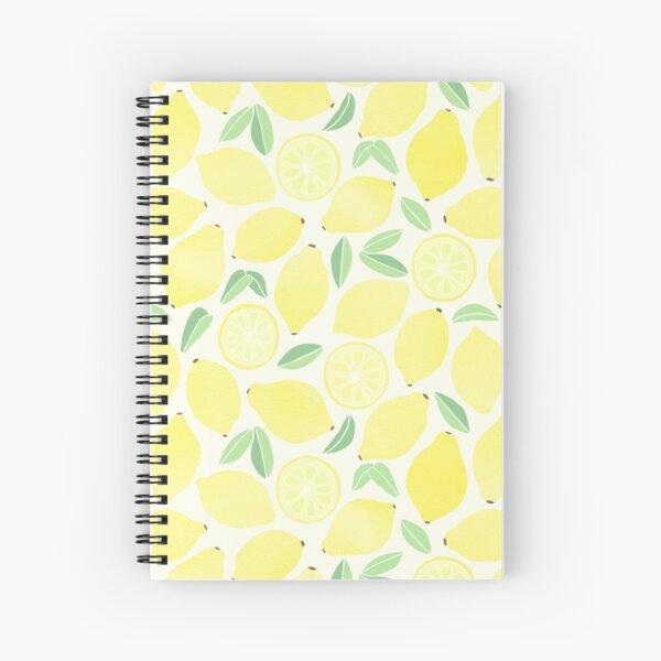Sommer Zitronen Spiralblock