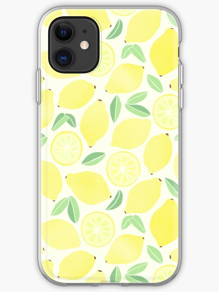 Sweet Lemon Pattern iPhone 11 case