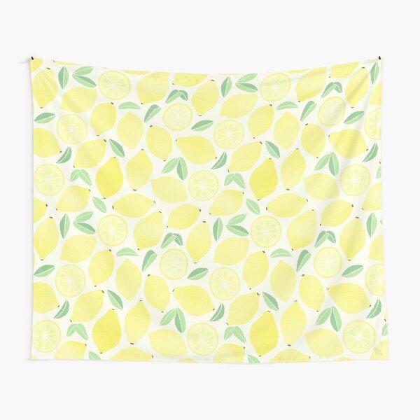 Summer Lemons Tapestry