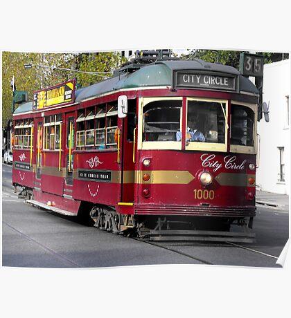 Lovely Old Tram Poster