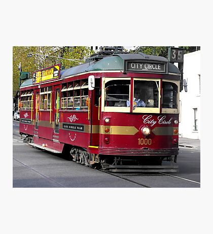 Lovely Old Tram Photographic Print