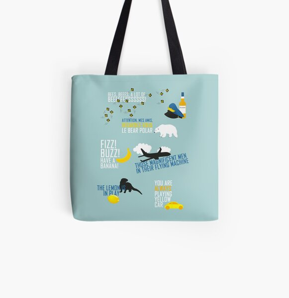 Cabin Pressure All Over Print Tote Bag
