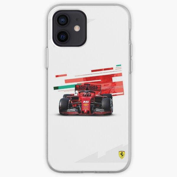 Charles Leclerc Formule 1 Coque souple iPhone