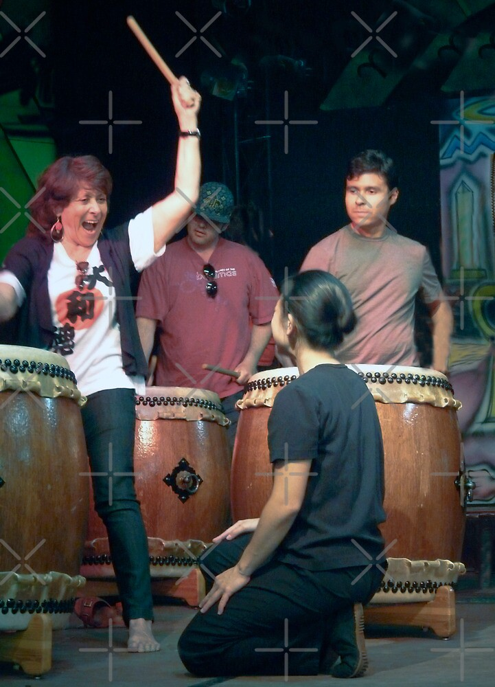 Taiko Excitement ! by Heather Friedman