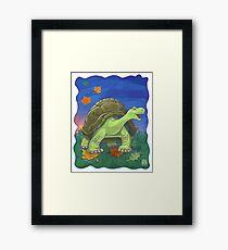 Animal Parade Tortoise Framed Print