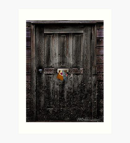 """Nobody Home"" Art Print"