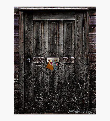 """Nobody Home"" Photographic Print"