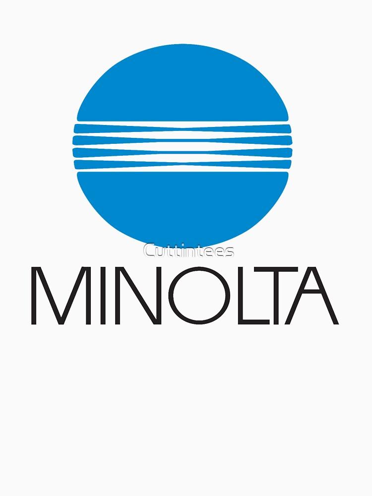 Minolta Camera by Cuttintees