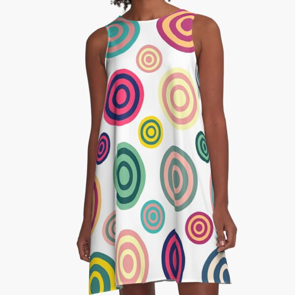Blob and Weave A-Line Dress