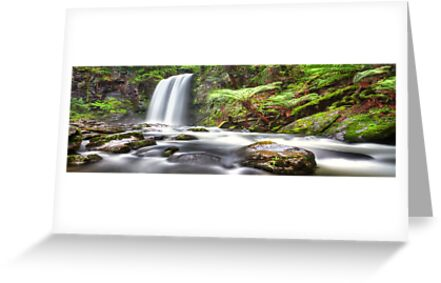 Hopetoun Falls Panorama by Shannon Rogers