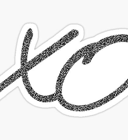 XO Sticker