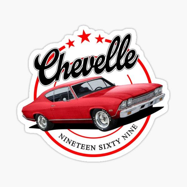 Retro Chevelle Sticker