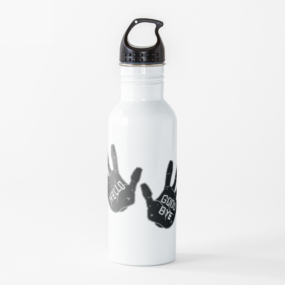 Hello Goodbye Klaus Number Four 4 The Umbrella Academy Netflix Water Bottle
