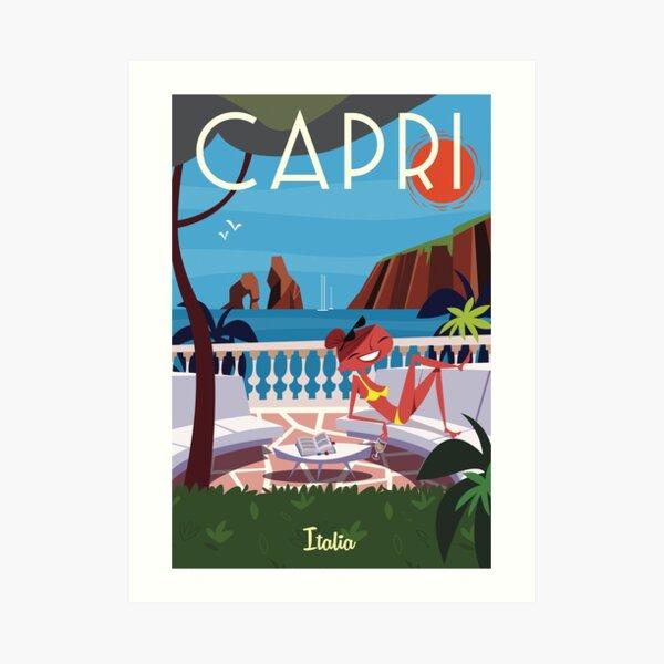 Capris Poster Art Print