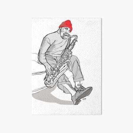 Sonny Rollins Art Board Print