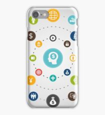 Business an orbit iPhone Case/Skin