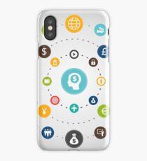 Business an orbit iPhone Case
