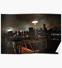 Batman's Gotham-like NYC Poster