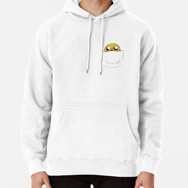 Jake in the pocket - Adventure Time Fan Art Pullover Hoodie