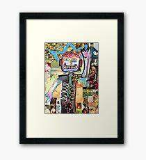 Hello Basquiat! Framed Print