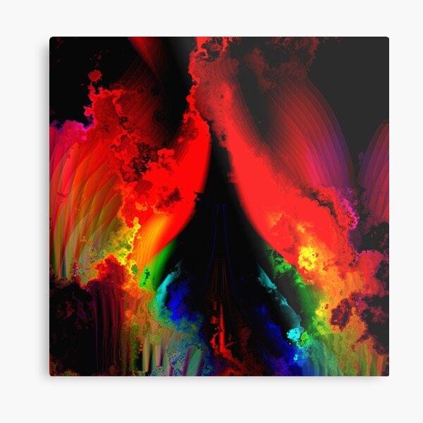The Rainbow Way Metal Print