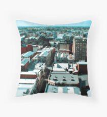 mini city Throw Pillow