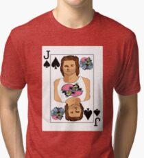 Jack of Spades Tri-blend T-Shirt
