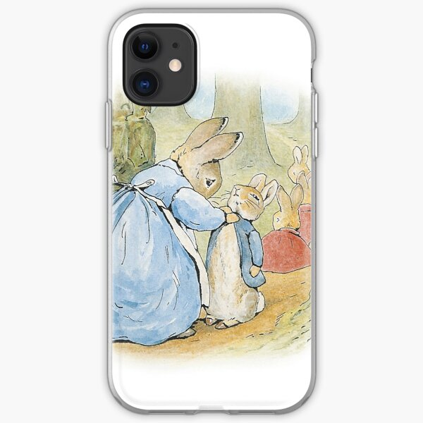 Peter Rabbit's Family iPhone Soft Case