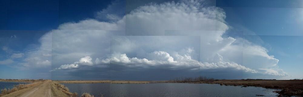 Prairie Storm Approaching by mistamojo